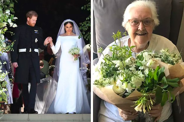 The flowers from the royal wedding were donated to hospice patients https://t.co/KZA2IbpL8C https://t.co/ehpWnl3pZx