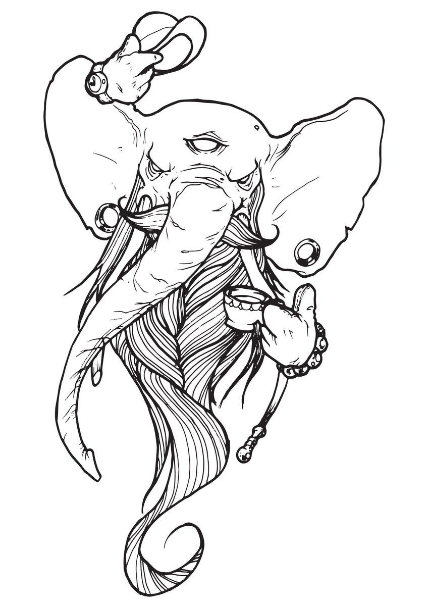 A most dapper elephant: https://t.co/KjAHgS38ef https://t.co/sTLk7pMkya