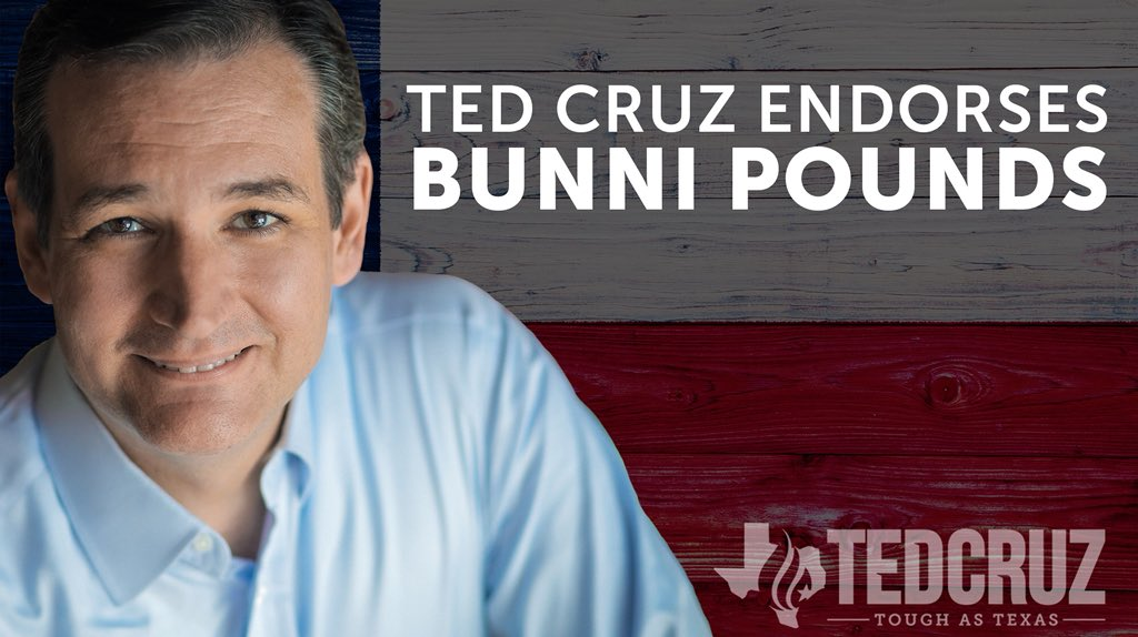 I am proud to endorse  @bunnipounds, and I urge voters to join me by supporting her: https://t.co/GMnQEAGX1S https://t.co/TOTkzjuZIt