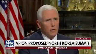 .@VP: 'We continue to be open to achieving denuclearization on the Korean peninsula by peaceable means.' #TheStory https://t.co/HQUPbVBZp4