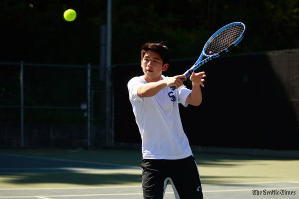 test Twitter Media - Seattle Prep's Aaron Yuan won the Class 3A state tennis singles title last year. This year, he's teaming up with friend Alex Blattner to try and win a doubles crown. (via @SandyRinger1)  https://t.co/iXMFq6rUIi https://t.co/B8wTlaj7K4