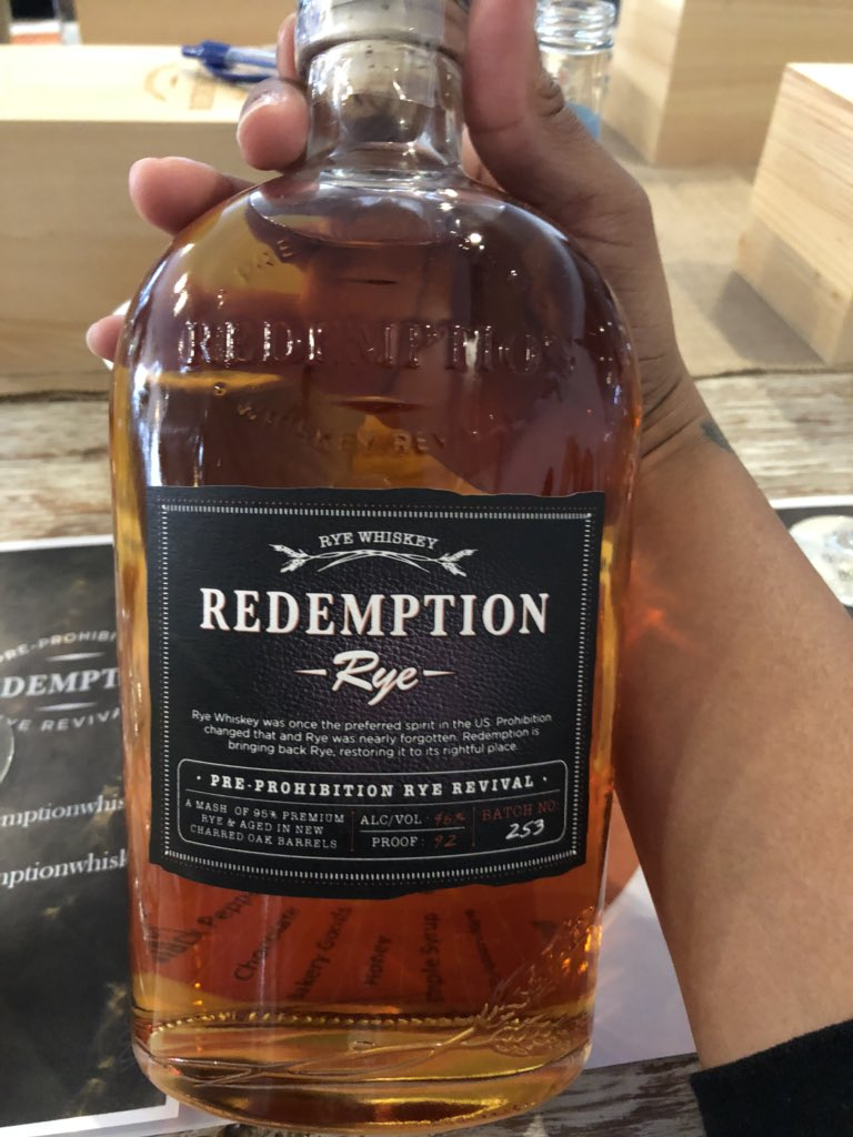 test Twitter Media - #TBT RT @BlackBourbonSoc: Happening Now: at a  @RedemptionRye whiskey tasting. #cheers #whiskeytasting #whiskey https://t.co/yURyykQ9iY