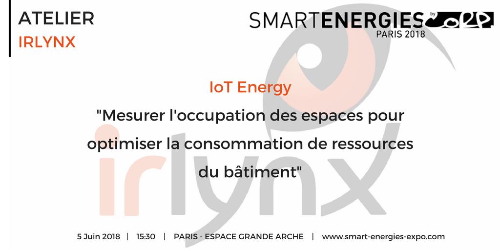 test Twitter Media - #SMARTENERGIES : Retrouvez l'atelier #Data #Iot animé par IRLYNX le 5 Juin, Paris Grande Arche.   Plus d'infos : https://t.co/nvRfxLJKE2 https://t.co/Yz4eoirqQI