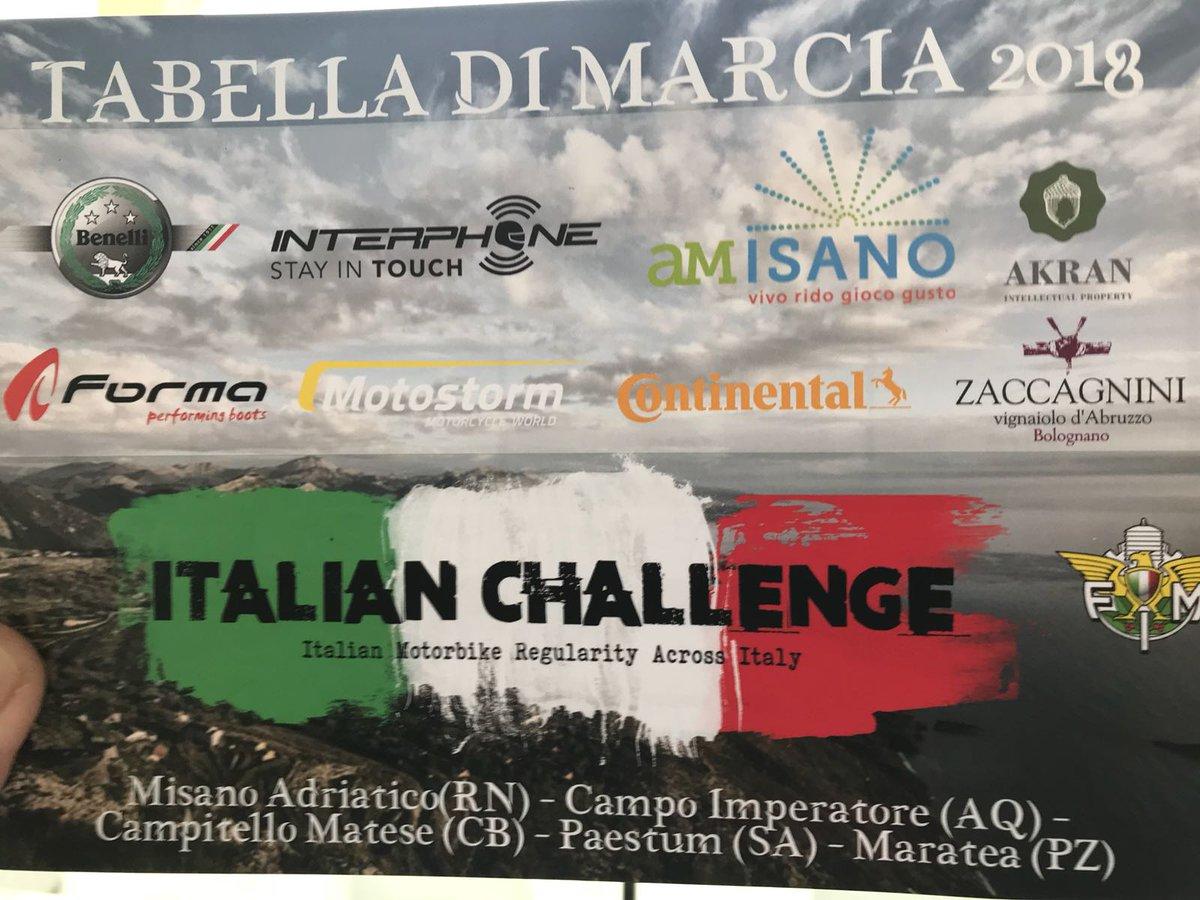 test Twitter Media - #TheItalianChallenge  #Italian #Motorbike #Regularity #Across #Italy  #AkranIP proud #Sponsor  #followtheAcorn Tabella di Marcia 2018 https://t.co/eyteHy7olF
