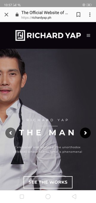 Belated happy birthday sir richard yap! Continue to inspire others like me.