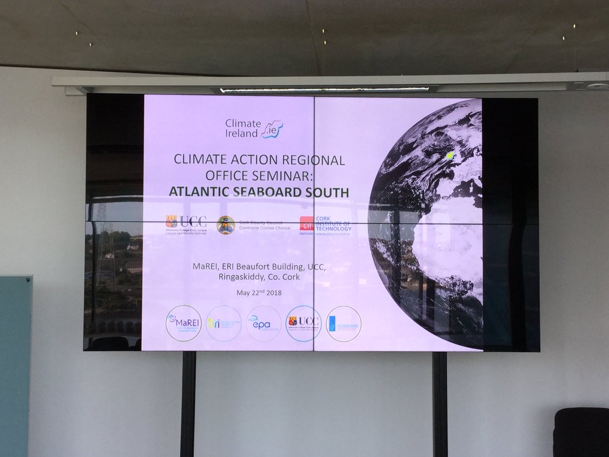 test Twitter Media - The Climate Action Regional Offices Seminar has kicked off in #MaREI today with #MaREIresearcher Dr. Barry O'Dwyer from @ClimateIreland. The aim is to deliver climatic and adaptation information that is of direct relevance to climate adaptation planning in Ireland #TimeToAdapt https://t.co/BSpBYtY8BE