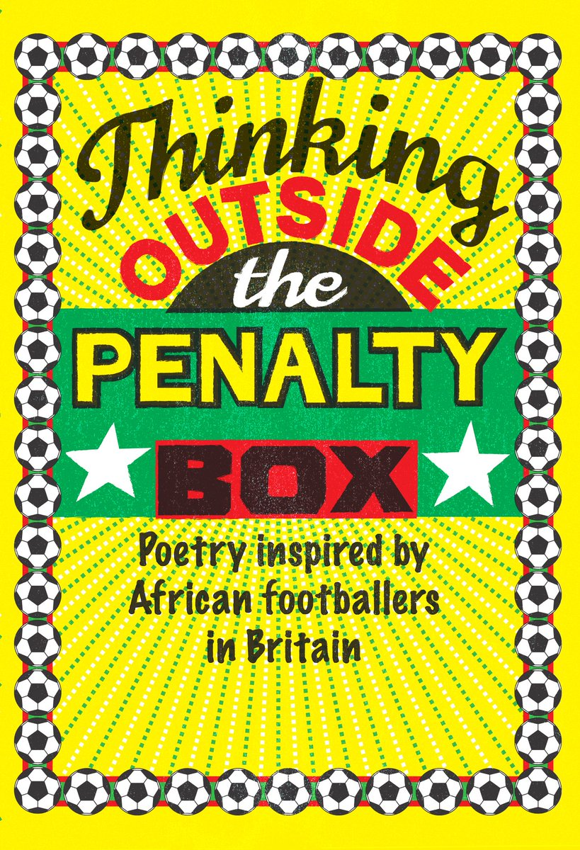 test Twitter Media - 'We'd chase a beat-up sphere of synthetic leather across the parched dancefloor that claimed our days.' From 'Choreography' by Kayo Chingonyi  Read the @youngpoetsnet 👟 ⚽ Thinking Outside The Penalty Box 👟 ⚽ anthology online! https://t.co/krPmkWqPFH https://t.co/4tLi0hAO0H