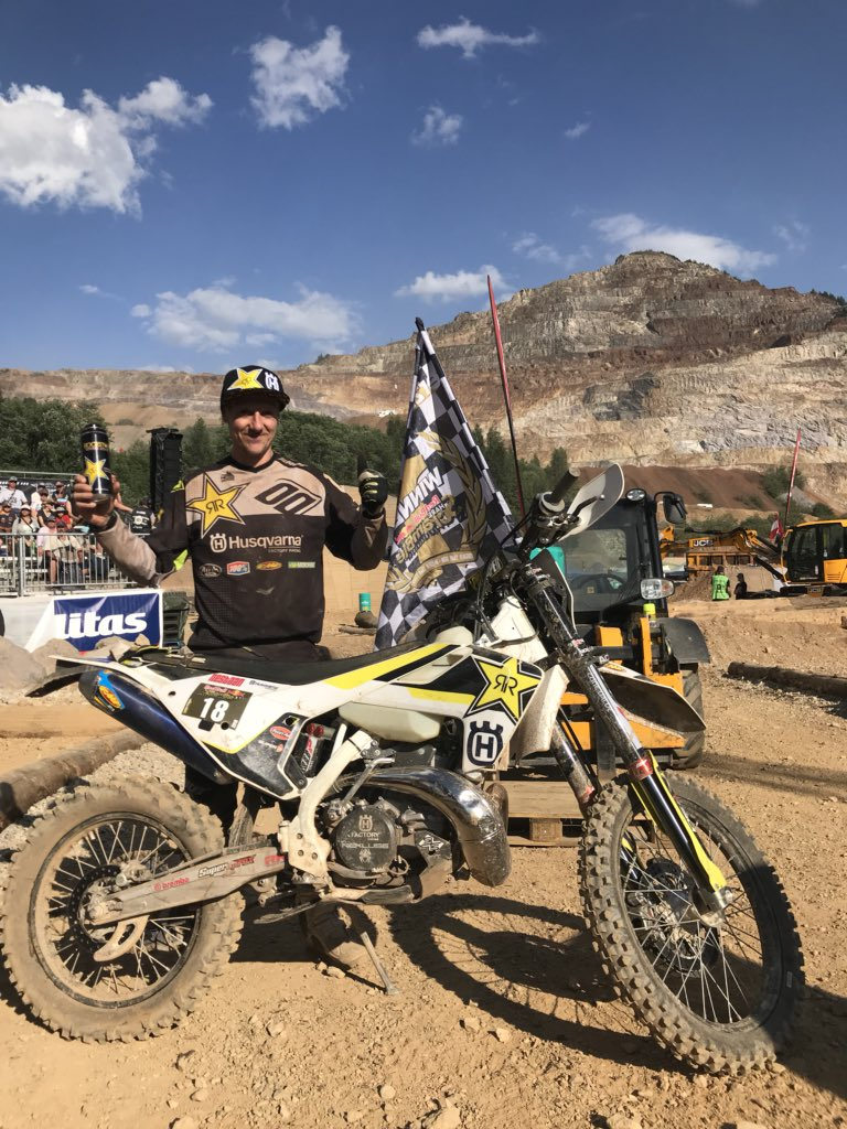 Happy days ! @Husqvarna1903 @rockstarenergy @rockstarenergy @Rockstar_Racing @ride100percent @fmf73 https://t.co/z9I5Rnx9yC