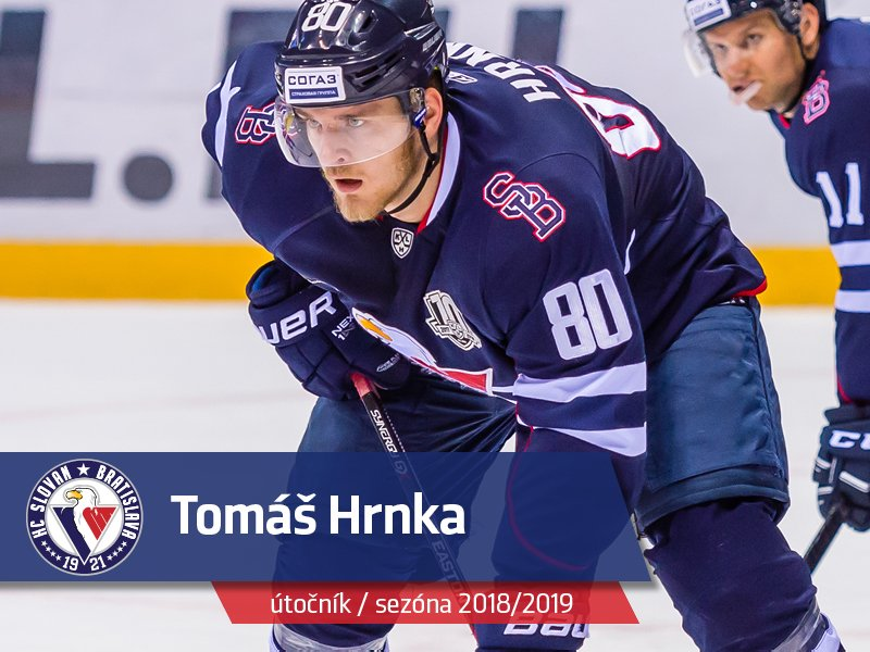 Forward Tomas Hrnka signed new 1 year contract with #hcslovan @khl #VerniSlovanu https://t.co/12AF4jiRfQ