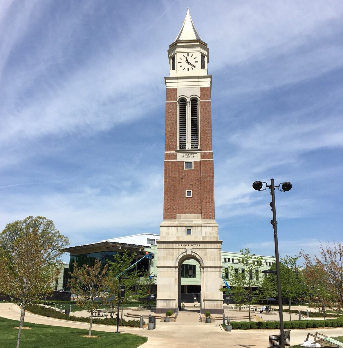 "test Twitter Media - Congratulations to this month's Photo Contest winner, Phil! ""The Ideal Legacy at Oakland University."" Ideal erected the OU bell tower in 2014 and is currently working on the new Oakland Center directly behind. https://t.co/akCwyEDxYy"