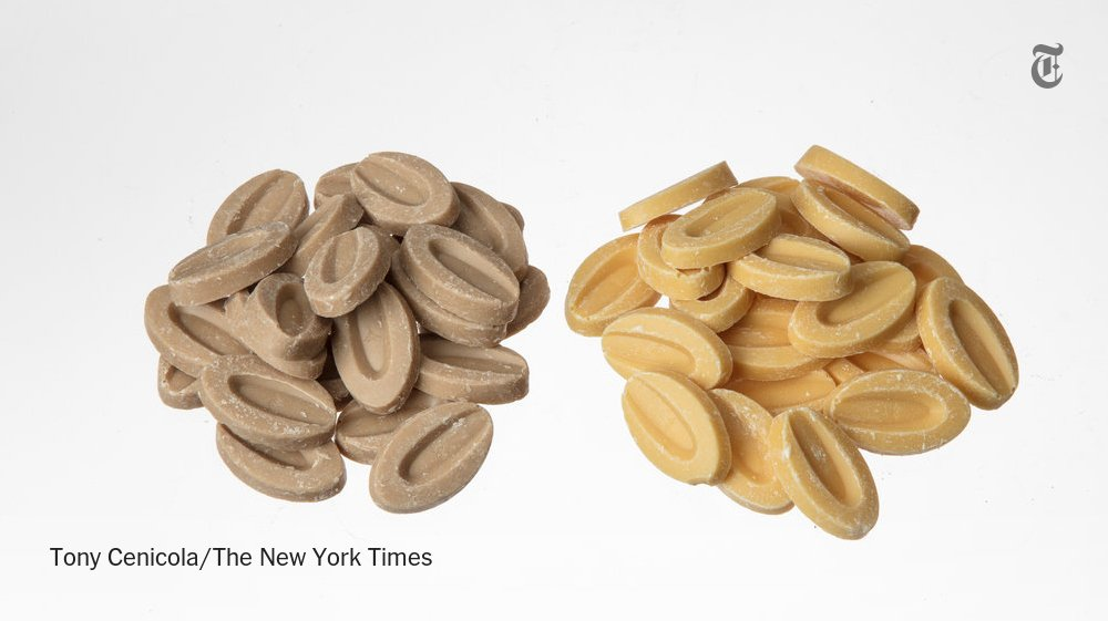 These meltable nibs add passion fruit and almond flavors to baking projects https://t.co/LbvxFE8YNw https://t.co/hsLgHyQXu4