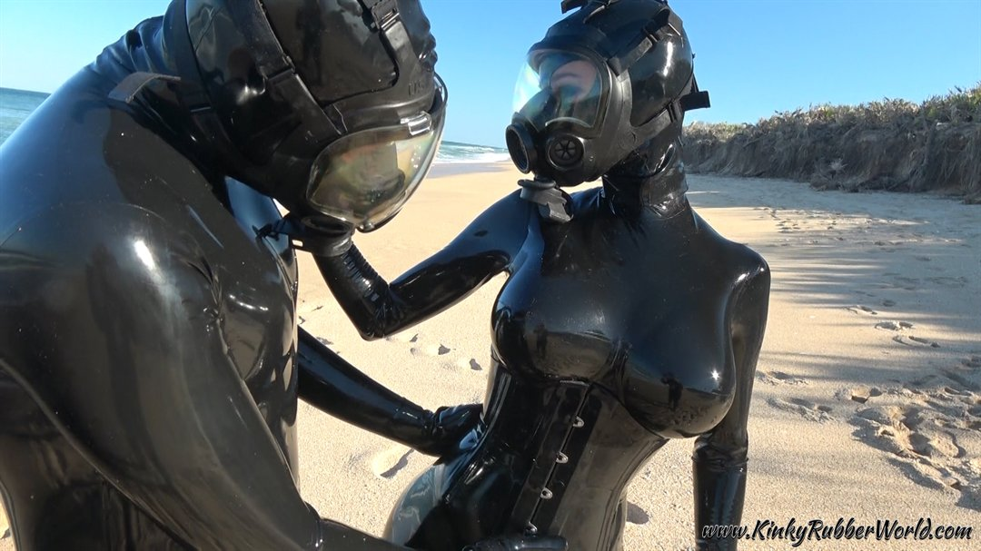 This week on nt2syh7QwY The first beach photoset and video! #MSA #gasmasks outfits by