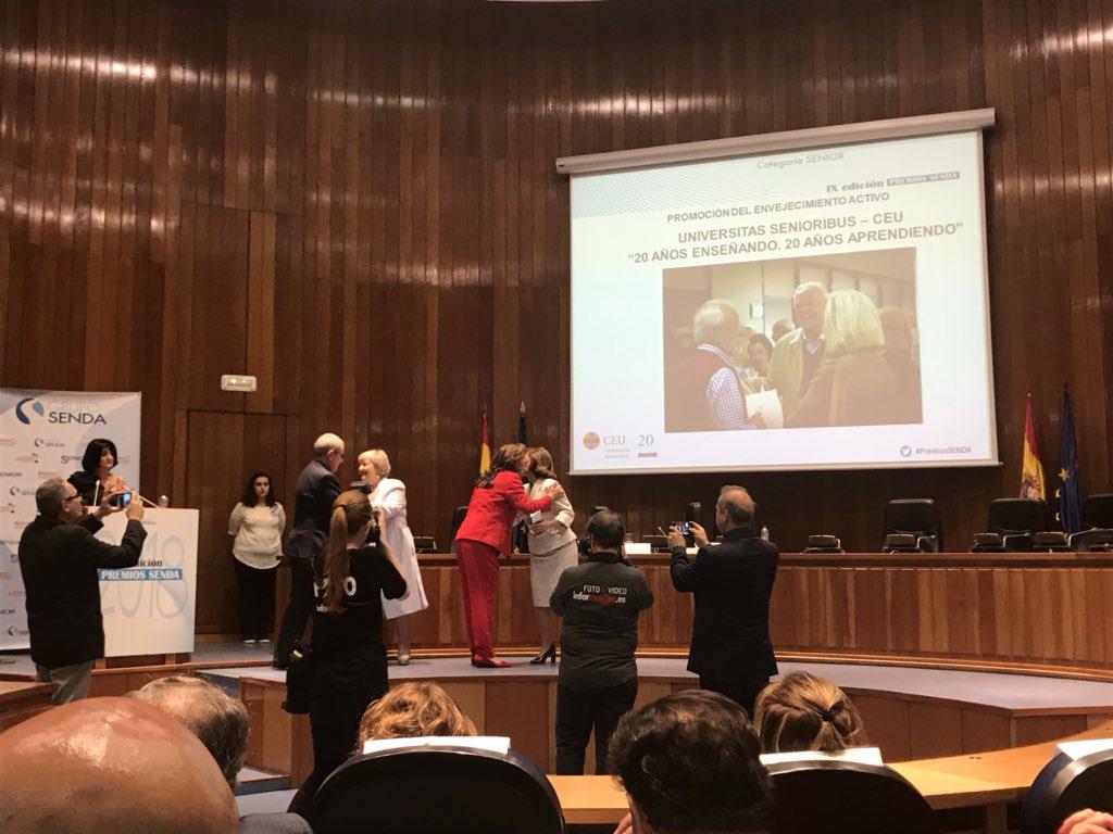 test Twitter Media - Premio a @uchceu por su proyecto Universitas Senioribus ENHORABUENA!! #PremiosSENDA https://t.co/gKfrphlTVq