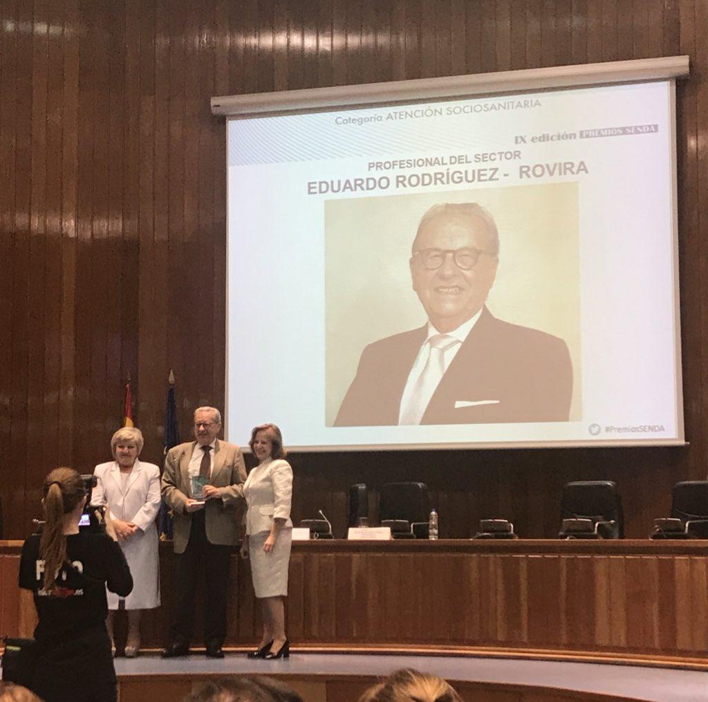 test Twitter Media - Enhorabuena a Eduardo Rodríguez-Rovira por el reconocimiento al profesional del año. @EdadyVida #PremioSENDA https://t.co/pmqafxIa3m
