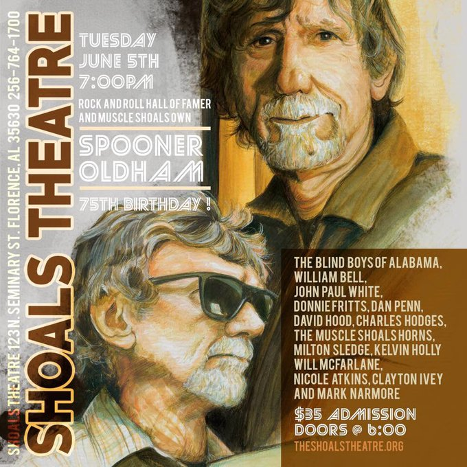Happy 75th Birthday to the great Spooner Oldham!