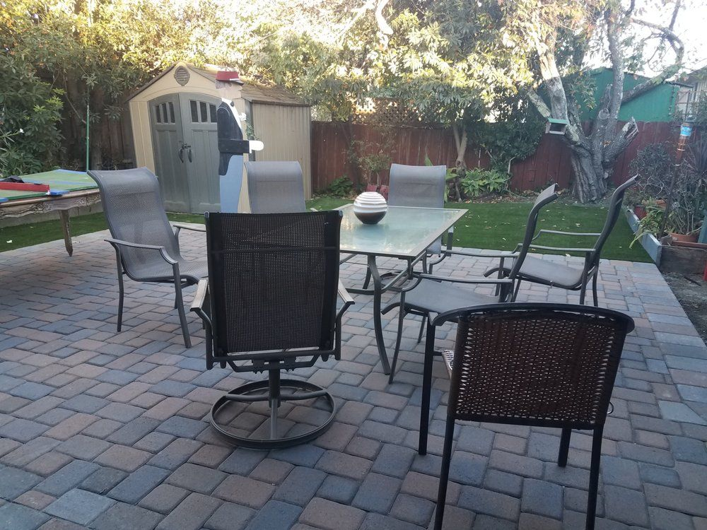 test Twitter Media - Even when the #backyard space is small, we can find a nice #design that will make you #happy! #Landscape #Patio #Pavers #PavingBlocks #InterlockingPavers #NapaValley #MarinCounty #SolanoCounty #LakeCounty #WineCountry https://t.co/DzVJb8qKzq