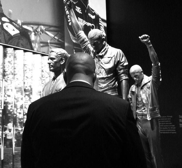 The NFL anthem protest decision is not honoring America, it is an affront to our proud legacy of athletes and others taking a stand to call to the conscience of our country to live up to her ideals. https://t.co/EFDvCRg4ri