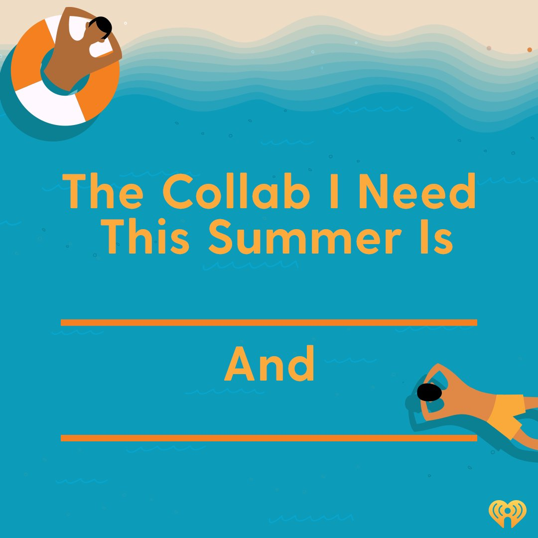 What collab do you need to happen this summer?  🌴: https://t.co/uPt6nmLOq5 https://t.co/A9OpYmlRJC