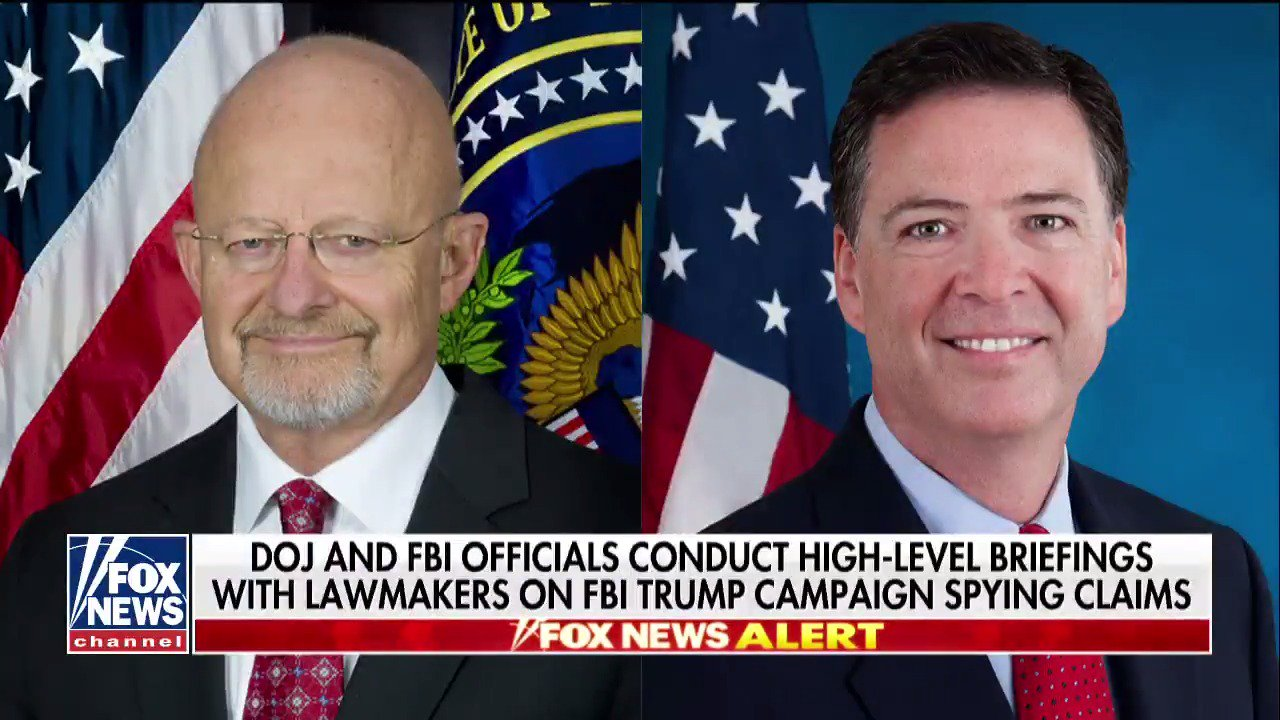 DOJ holds contentious Russia briefings as sparks fly over 'spygate' #Hannity https://t.co/GKVfvUpKfW https://t.co/Kwa6mUQ9lv