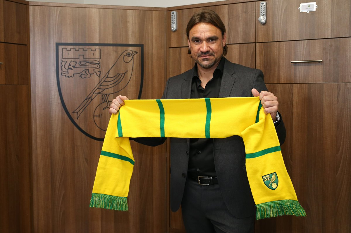 1⃣ year ago today, Daniel Farke was named as our new Head Coach!   #ncfc https://t.co/wl3d4YxpiF