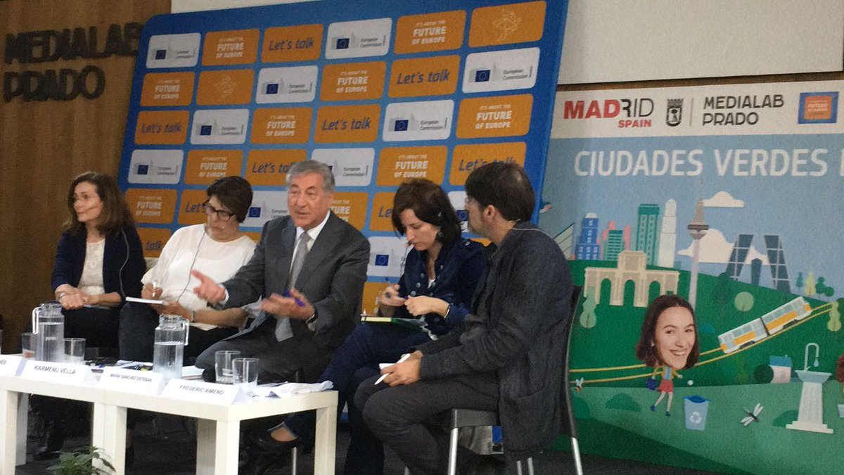 "test Twitter Media - ""Every week should be a green week and every day should be a green day!"" @KarmenuVella at the Citizens' Dialogue with civil society, local businesses and institutional representatives at #EUGreenWeek in #Madrid https://t.co/YBjaeKnHWX"