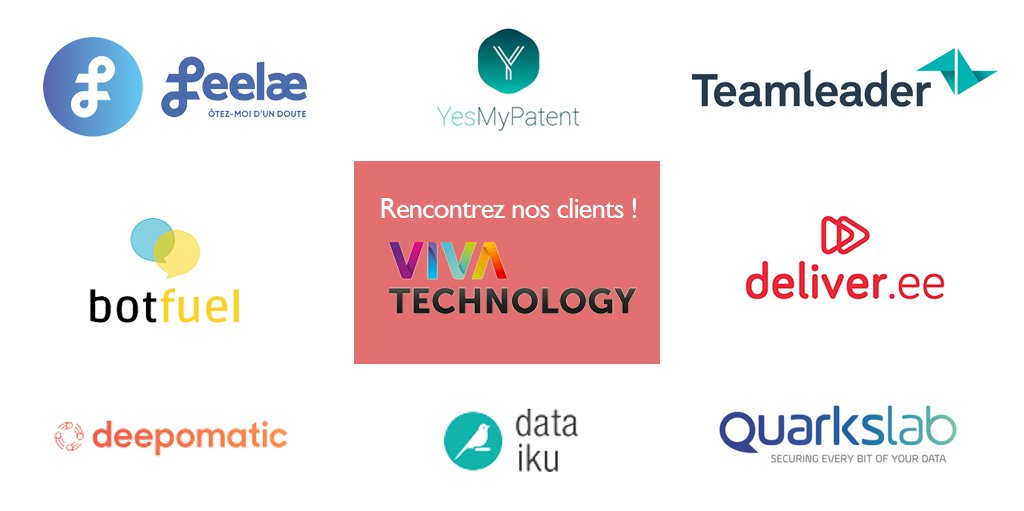 test Twitter Media - Vous êtes sur #VivaTech ?Nos clients aussi ! - @botfuel: Sanofi Lab - @dataiku: Stand J41-020 - @deepomatic: Stand C29-007 - @feelae_: Stand H29 - @YesMyPatent: Stand CCI Paris IDF - @quarkslab: Stand L30-009 - @TeamleaderFR: Stand D17-002 - @deliver_ee: Stand B Klepierre https://t.co/F5zRM9GijY