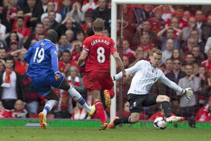 Happy Birthday Demba Ba! The man who haunts Steven Gerrard\s nightmares.