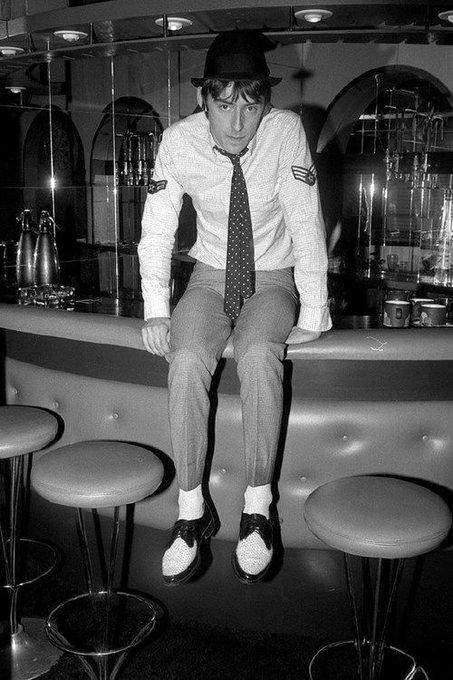 Happy 60th birthday to Paul Weller. Photo by Sheila Rock, c.1978.