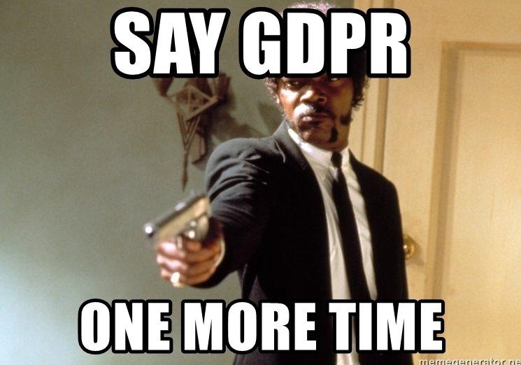 #GDPRday