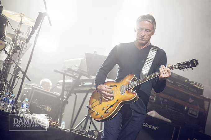 Happy Birthday Paul Weller, 60 today! Loving the new song also