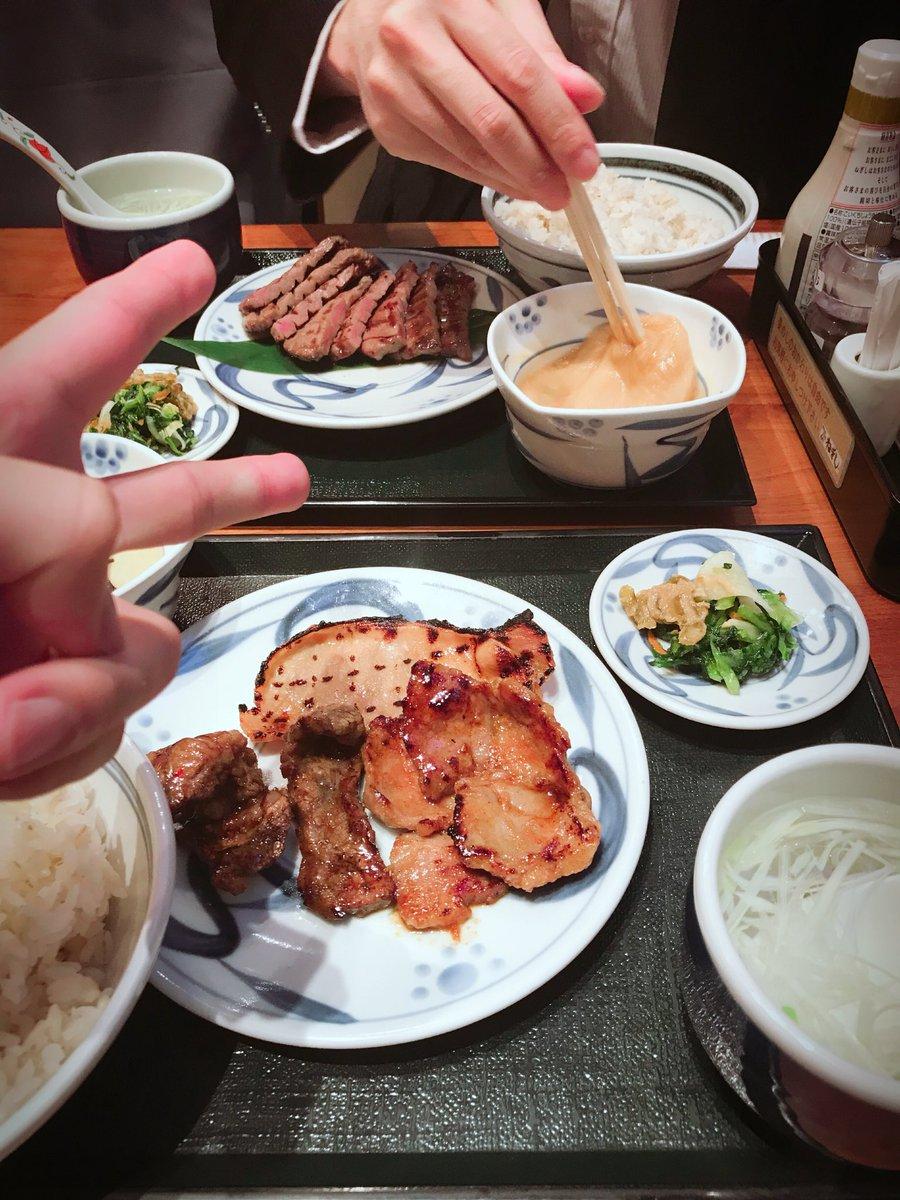 Special premium Fridayは、超絶イケメンさんと、ねぎしデート❤️🐃🐖お米食べすぎ