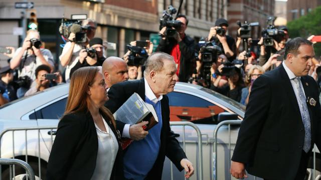 #BREAKING: Weinstein surrenders to police on rape charges https://t.co/Wv7dH2EQu7 https://t.co/hRNx47EI2m