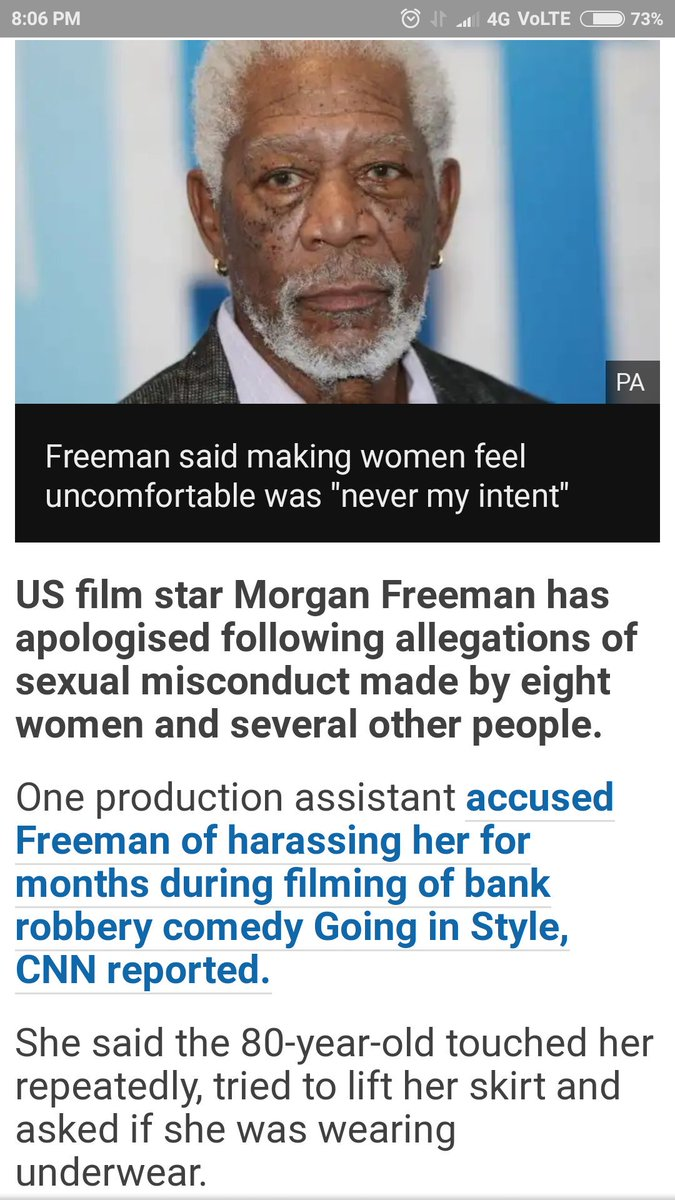 #MorganFreeman