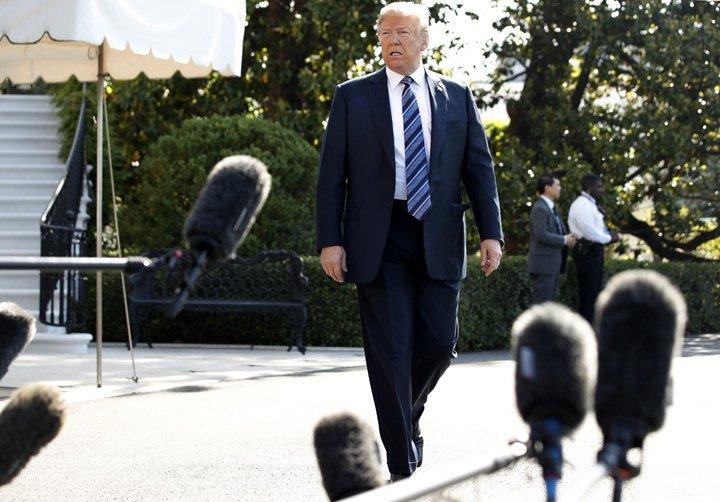 @BroadcastImagem: Reunião com Kim poderia ainda acontecer no dia 12 de junho, diz Trump. Jacquelyn Martin/AP