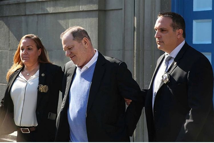 Harvey Weinstein is arrested o harvey weinstein