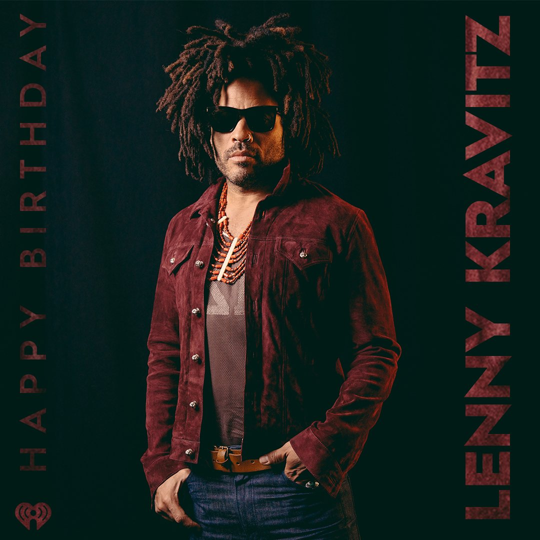 Happy Birthday to the one and only, @LennyKravitz 😎 https://t.co/lN9zoW52zx