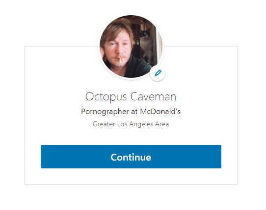 RT @OctopusCavemann: They let you say whatever you want on LinkedIn https://t.co/pYXnrpn1e3