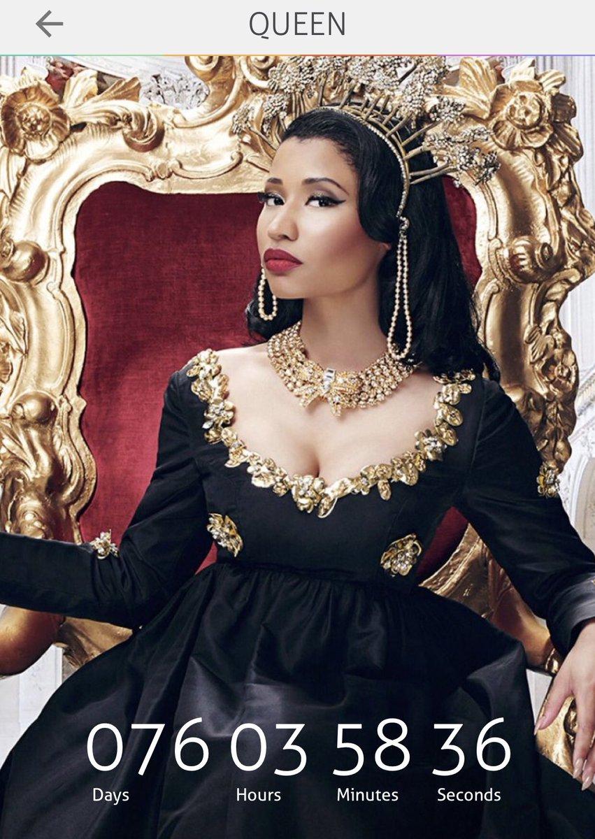 RT @PSMiNAJ: @NICKIMINAJ 76 DAYS????. #Queen https://t.co/FgXJ1hxIYM