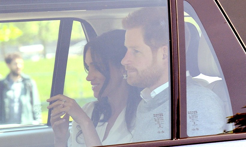The big sign that Prince Harry and Meghan Markle are already on honeymoon...