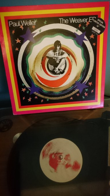 """Happy 60th Birthday Paul Weller. Now playing \""""Another New Day\"""""""