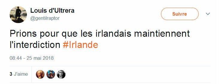 #Irlande