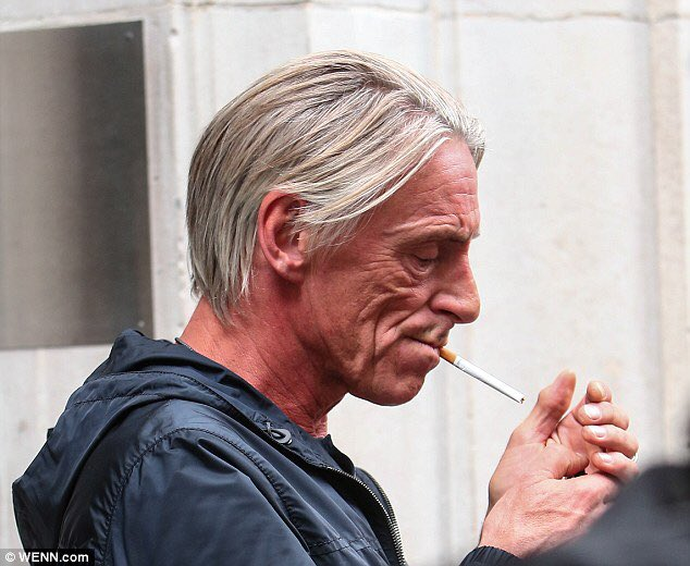 Happy 60th birthday to Paul Weller aka Mr. Cigarette (smoker)!