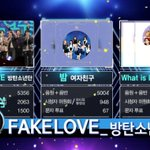 "RT : #BTS Takes #FakeLove2ndWin On ""Music C..."
