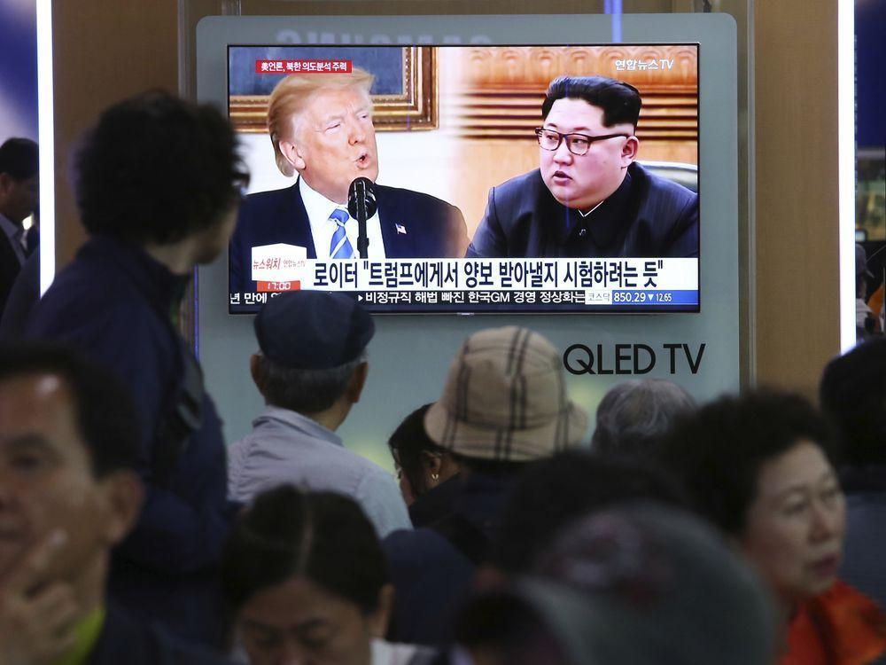 'Everybody plays games': Trump hints that historic Korea summit might be back on the table