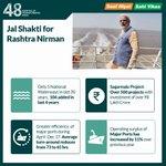 RT : Jal Shakti for Rashtra Nirman. #Saaf...