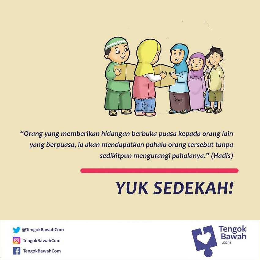 RT @TengokBawahCom: Bulan Ramadhan adalah waktu yang mulia dan pahalanya berlipat ganda. Yuk sedekah! https://t.co/DhnscxMRvE