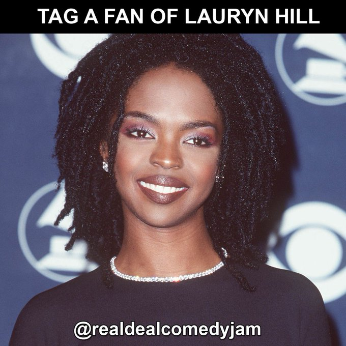 SMILE! Happy Birthday to the iconic Lauryn Hill who turns 43 today. Living legend.