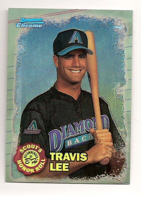 Happy  Birthday  1975 Travis Lee, baseball 1st baseman (Olympic bronze 1996), born in San Diego, California