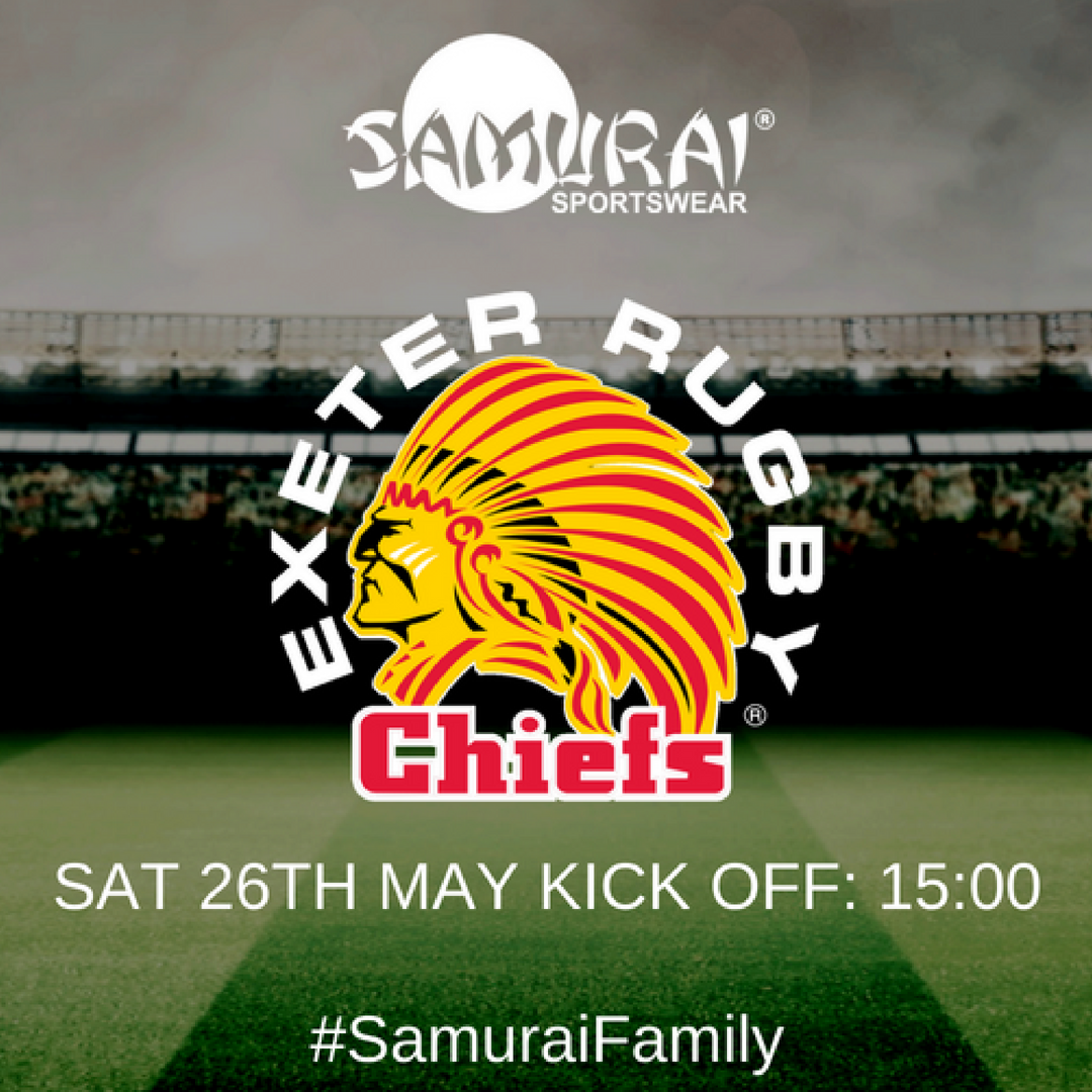 test Twitter Media - Make sure you're watching the @ExeterChiefs in their Samurai ICONIX™ Jerseys play in the Premiership final today at 3pm. Best of Luck Guys! 🎉 👏  #SamuraiFamily https://t.co/Q21UPnK22m