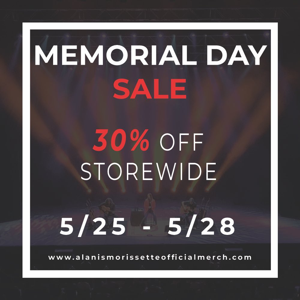 Memorial Day sale over at https://t.co/8kTmdq5ziG. Sales ends Monday 5/28. https://t.co/JS86lyg8rf